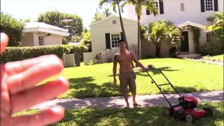 BAIT BUS – Asian Straight Bait Hunter Vance Was Mowing A Lawn; We Made Him An Offer He Could Not Refuse