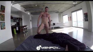 MenPOV – Billy Santoro & Rex Cameron Fuck In Muscle Heaven