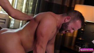 Dalton Briggs takes Luke Adam ass of his cock