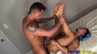 PETERFEVER Inked Asian Hunk Barebacked By Dominic Pacifico