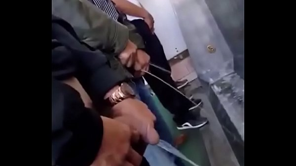 Chinese handsome guys piss